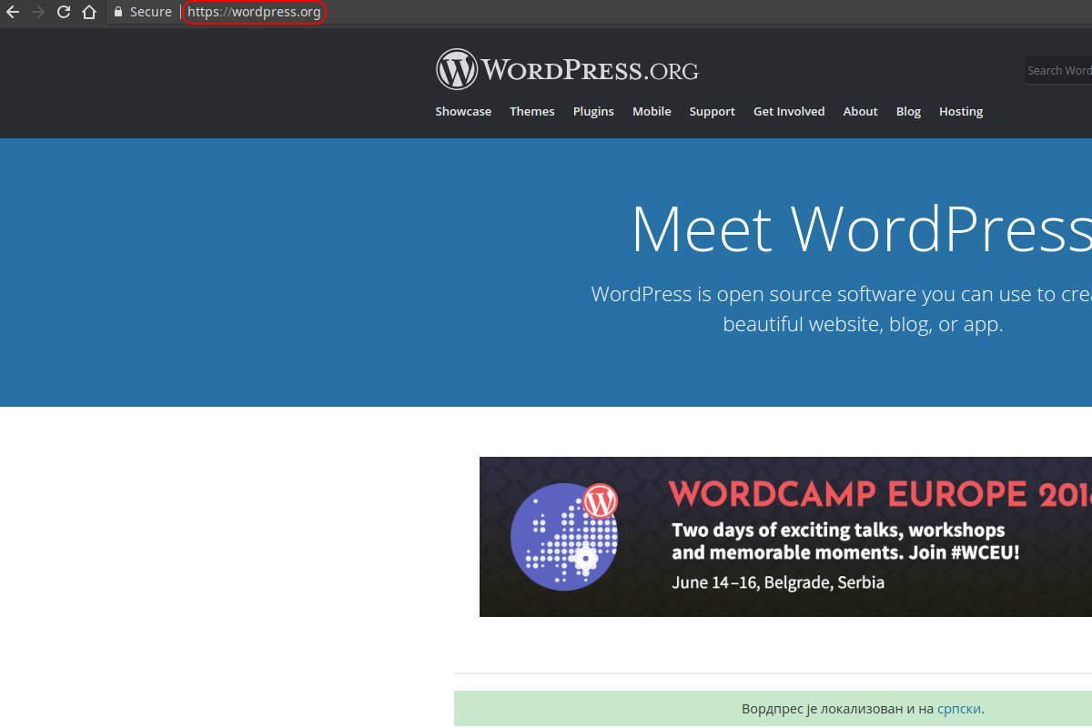 WordPress.org sajt